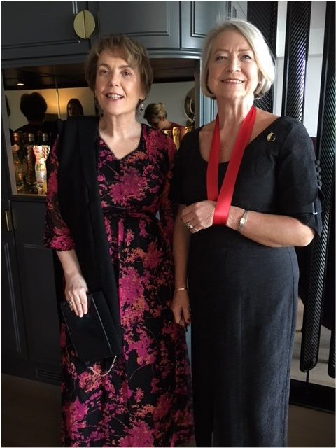 OPSA Trustee Kate Adie Awarded MBE