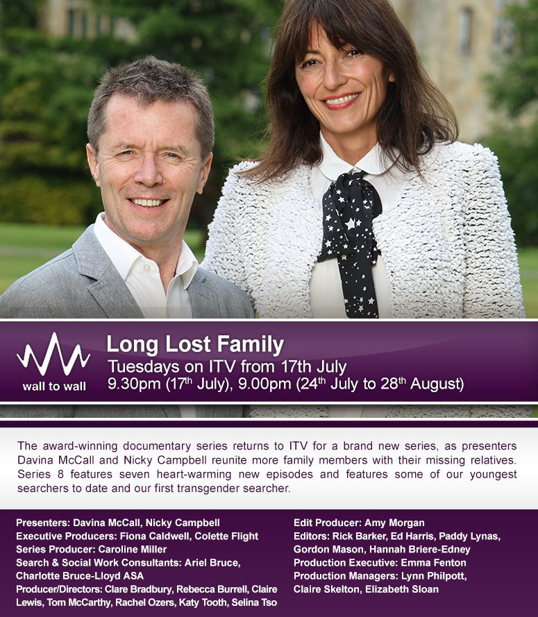 Long Lost Family Series 8 Premiere Dates